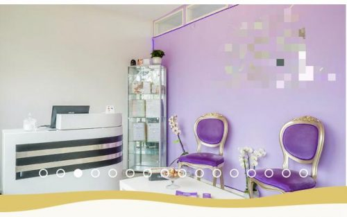 Beauty salon ter overname